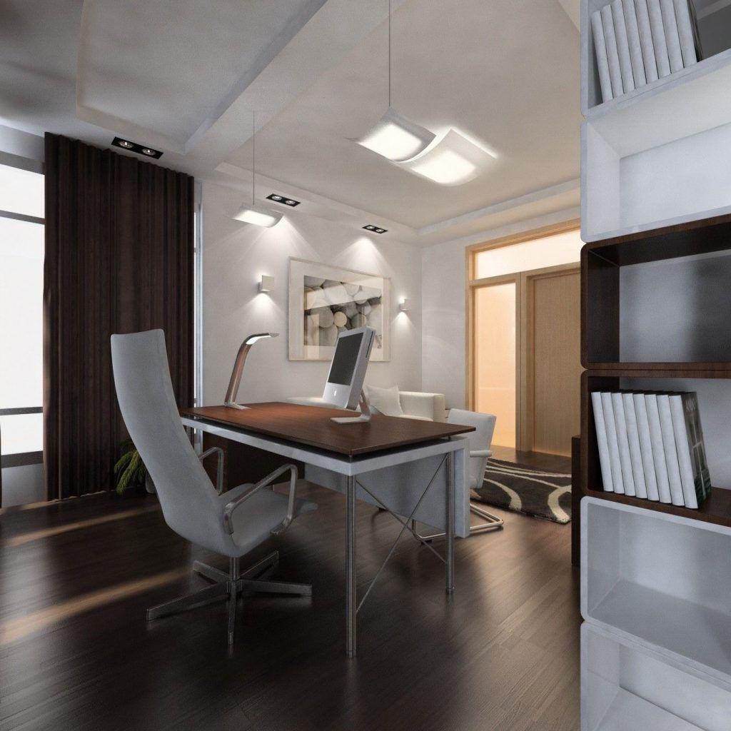 Интерьер кабинета в современном стиле