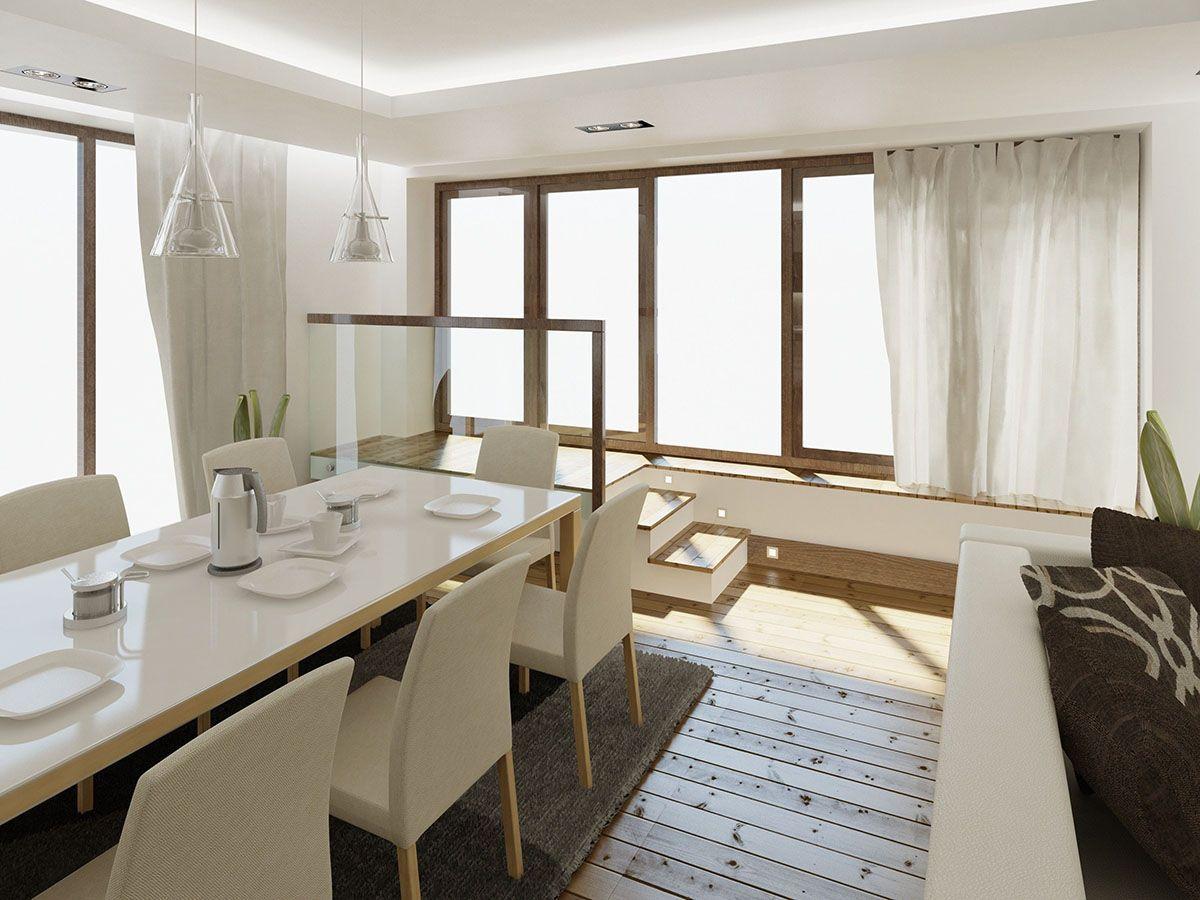 Интерьер столовой в квартире