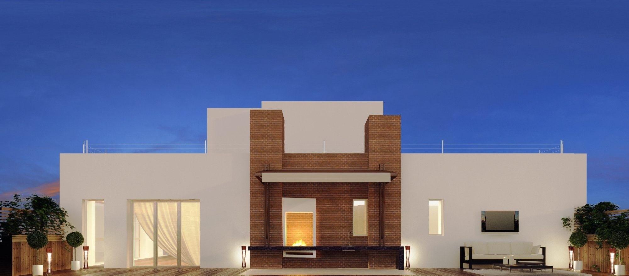 Архитектура дома в современном стиле