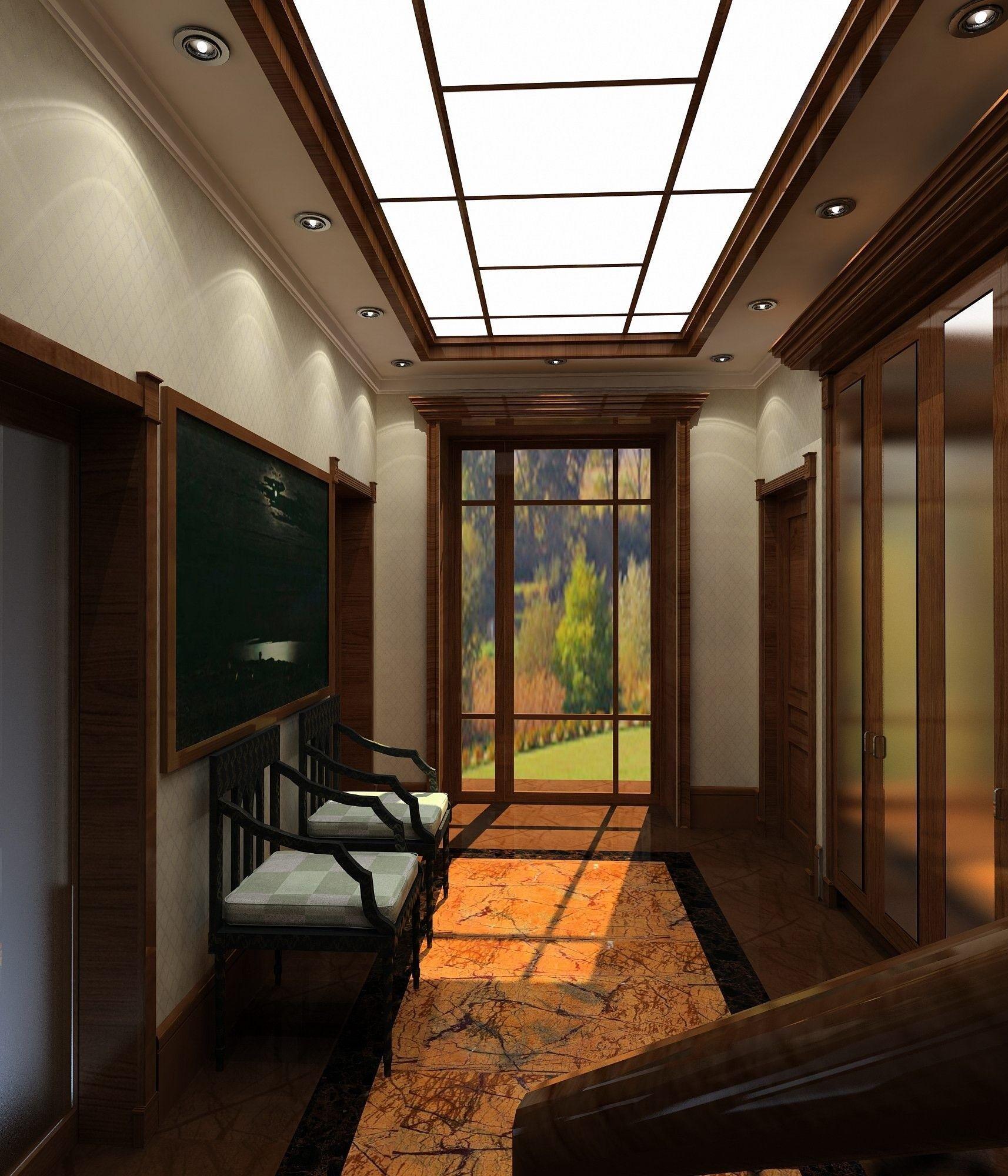 Дизайн прихожей комнаты в классическом стиле