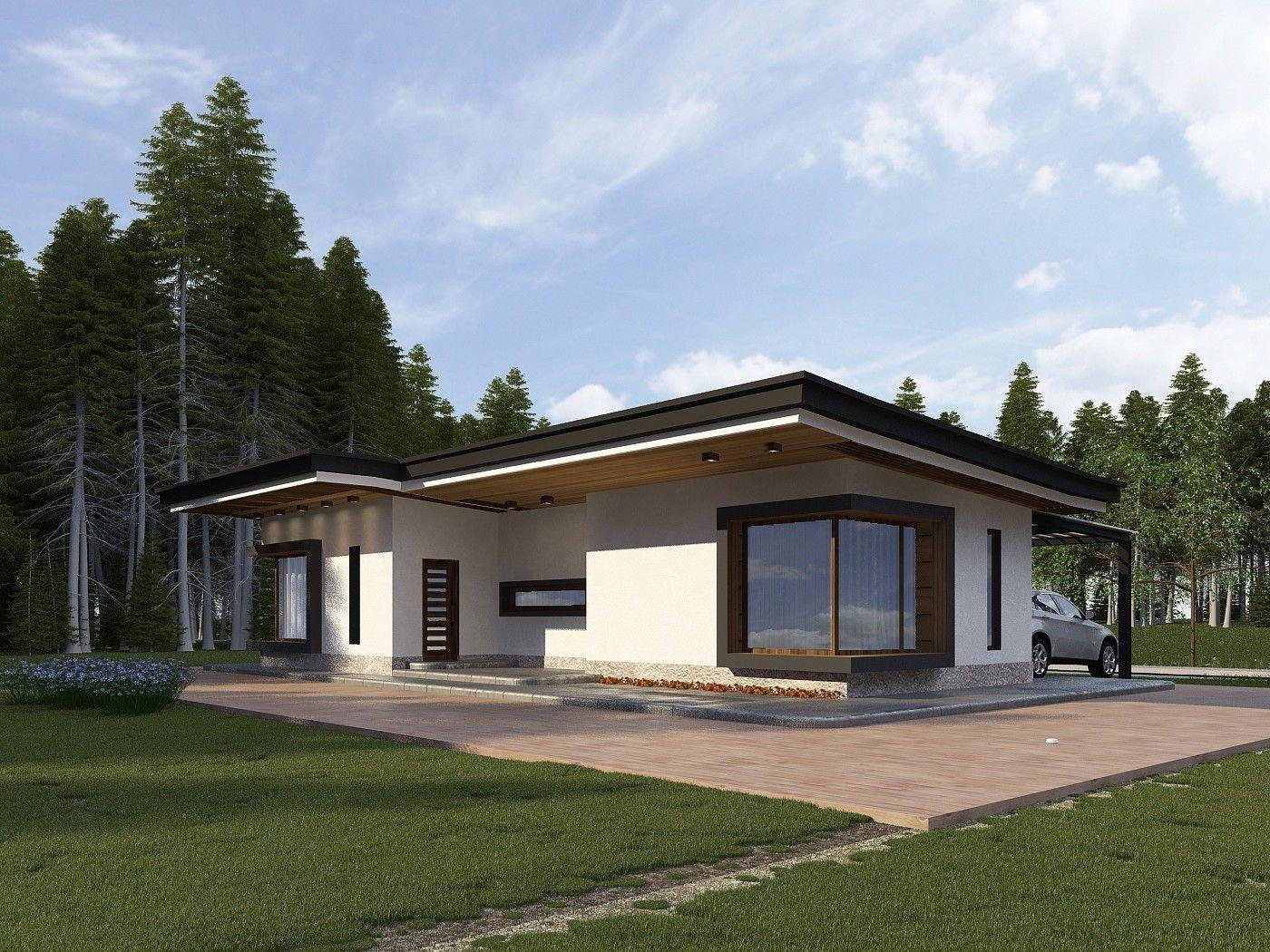 Дом в стиле конструктивизма: проект архитектуры