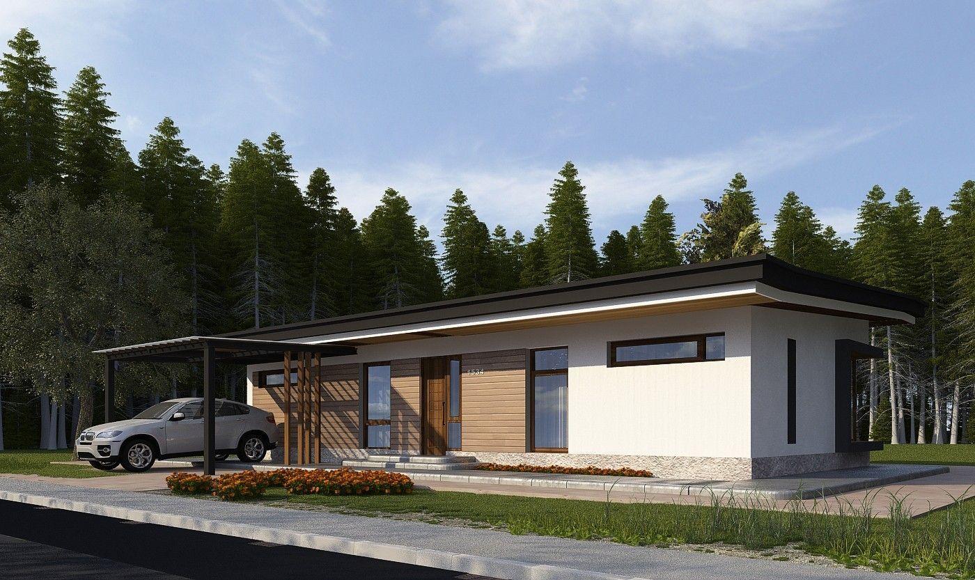 Дом в стиле конструктивизма: проект