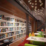 ДК Герцена, библиотека.