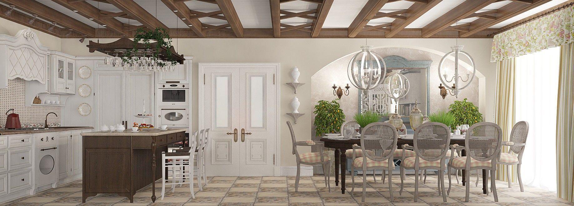 Кухня-столовая - дизайн - проект