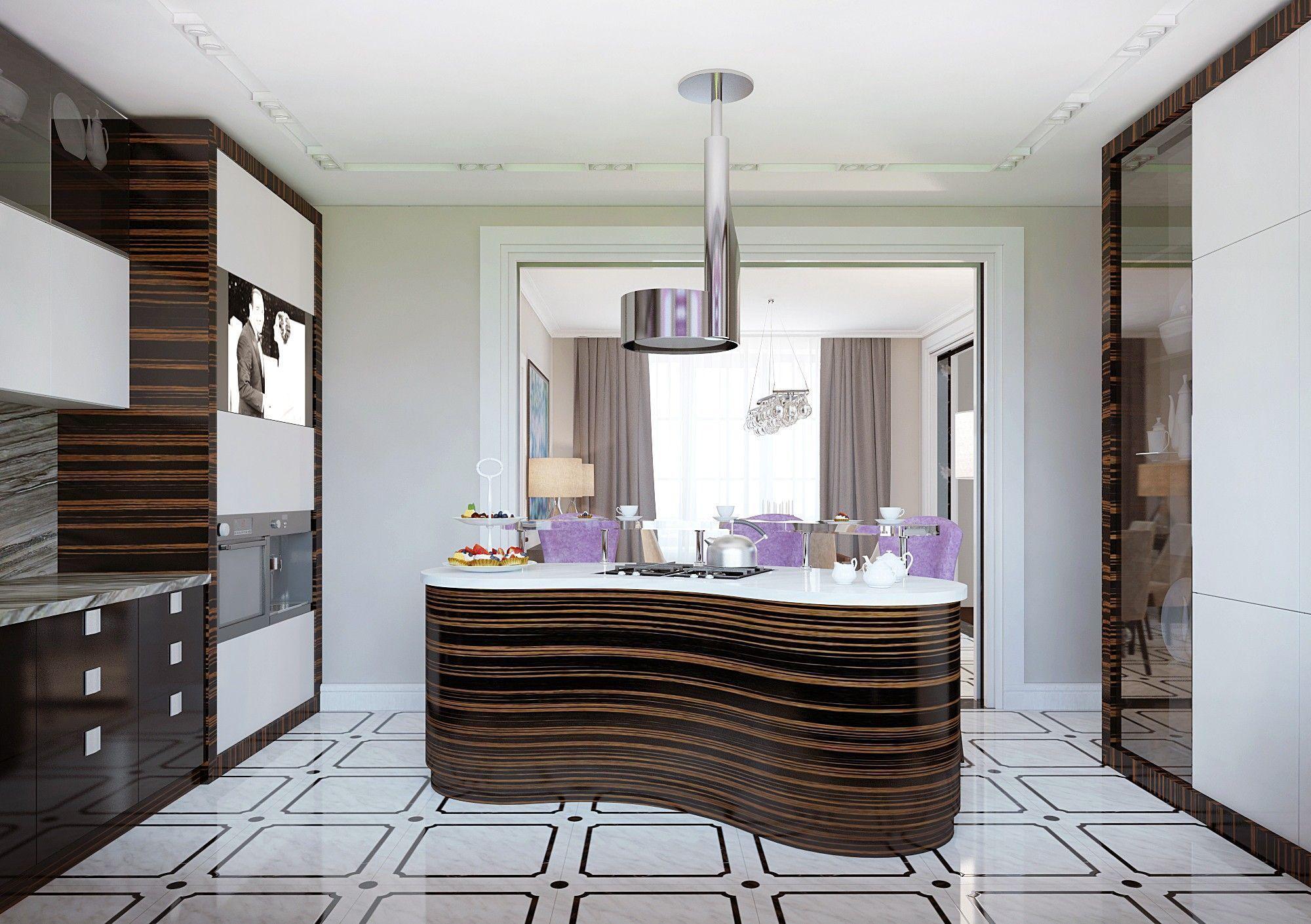 Кухня. Дизайн интерьера дома.