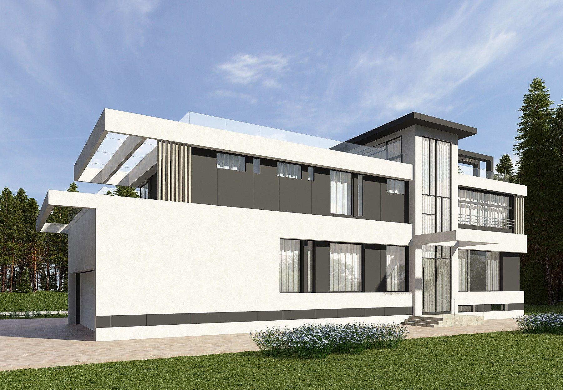 Комбинированные дома из камня и дерева: проекты