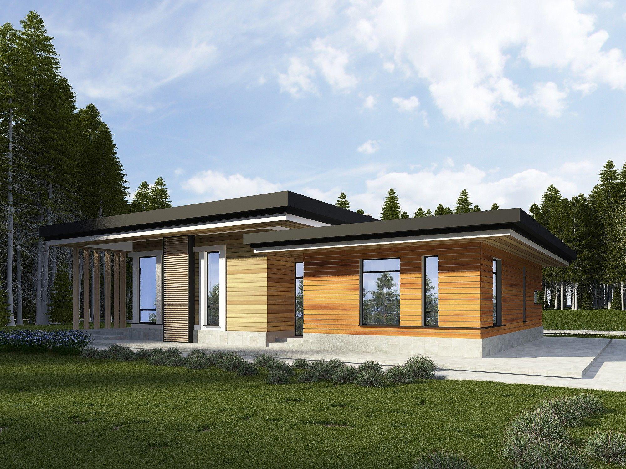 Архитектурный проект одноэтажного дома