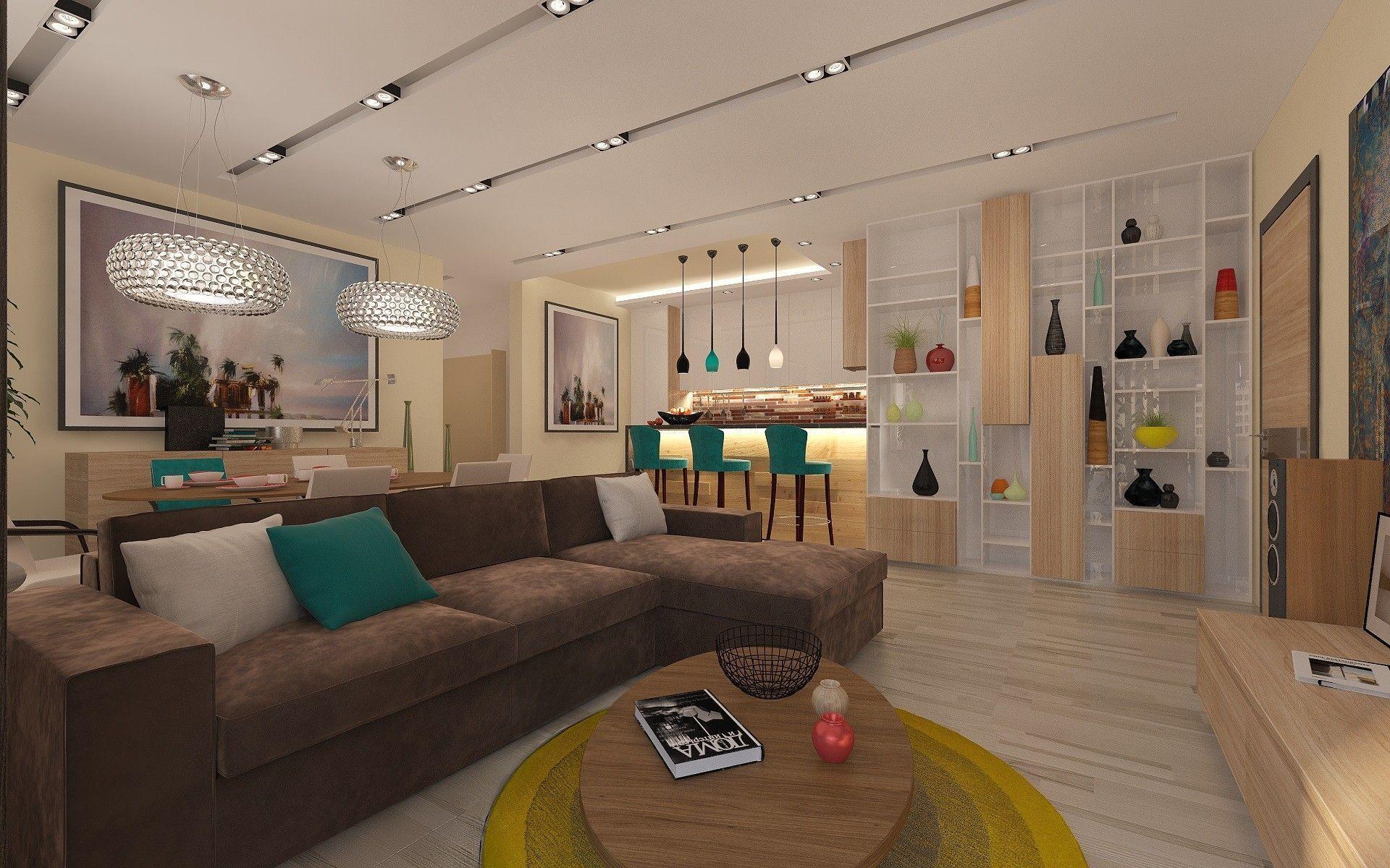 Дизайн - проект гостиной: заказать