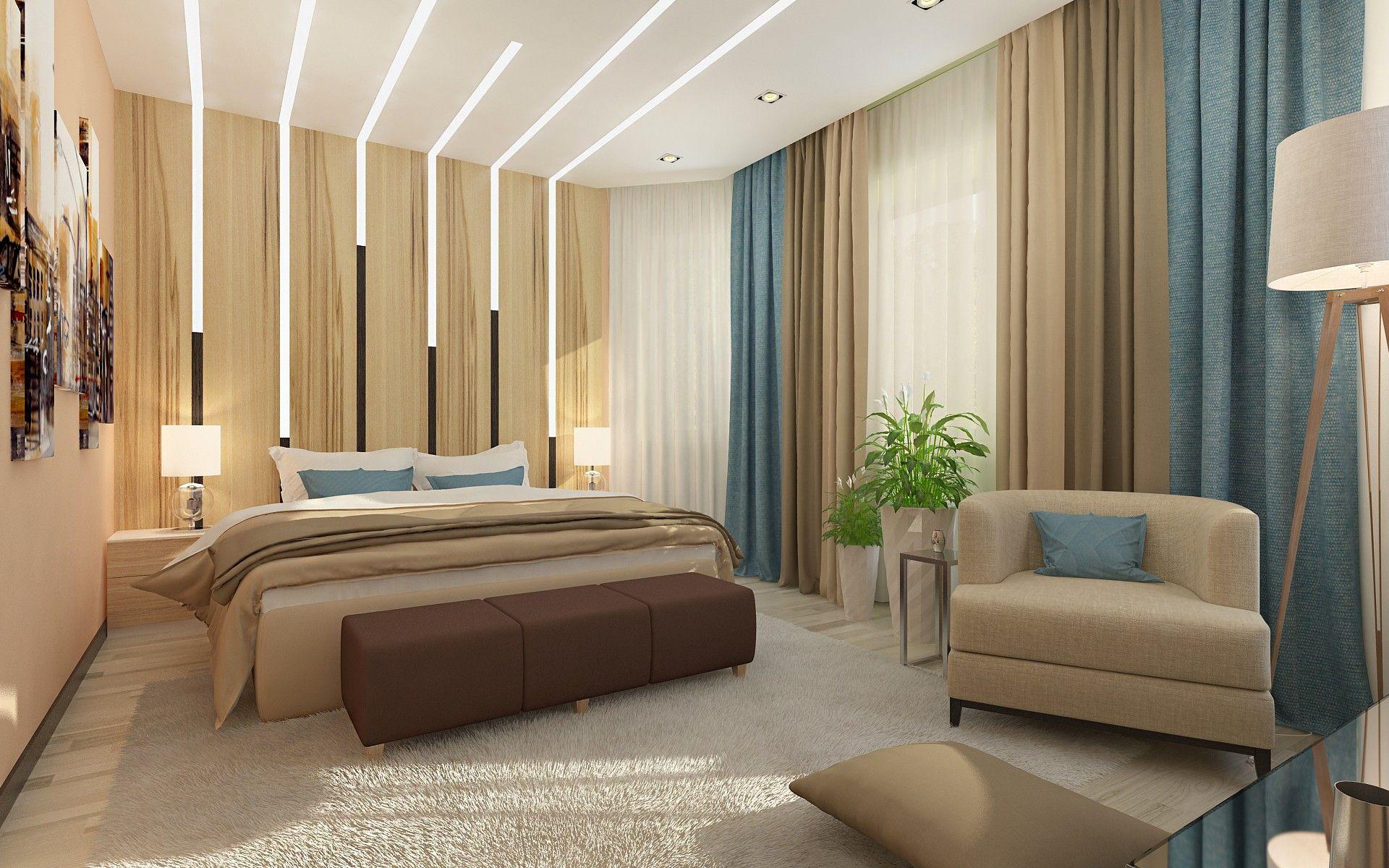 Спальня - дизайн - проект