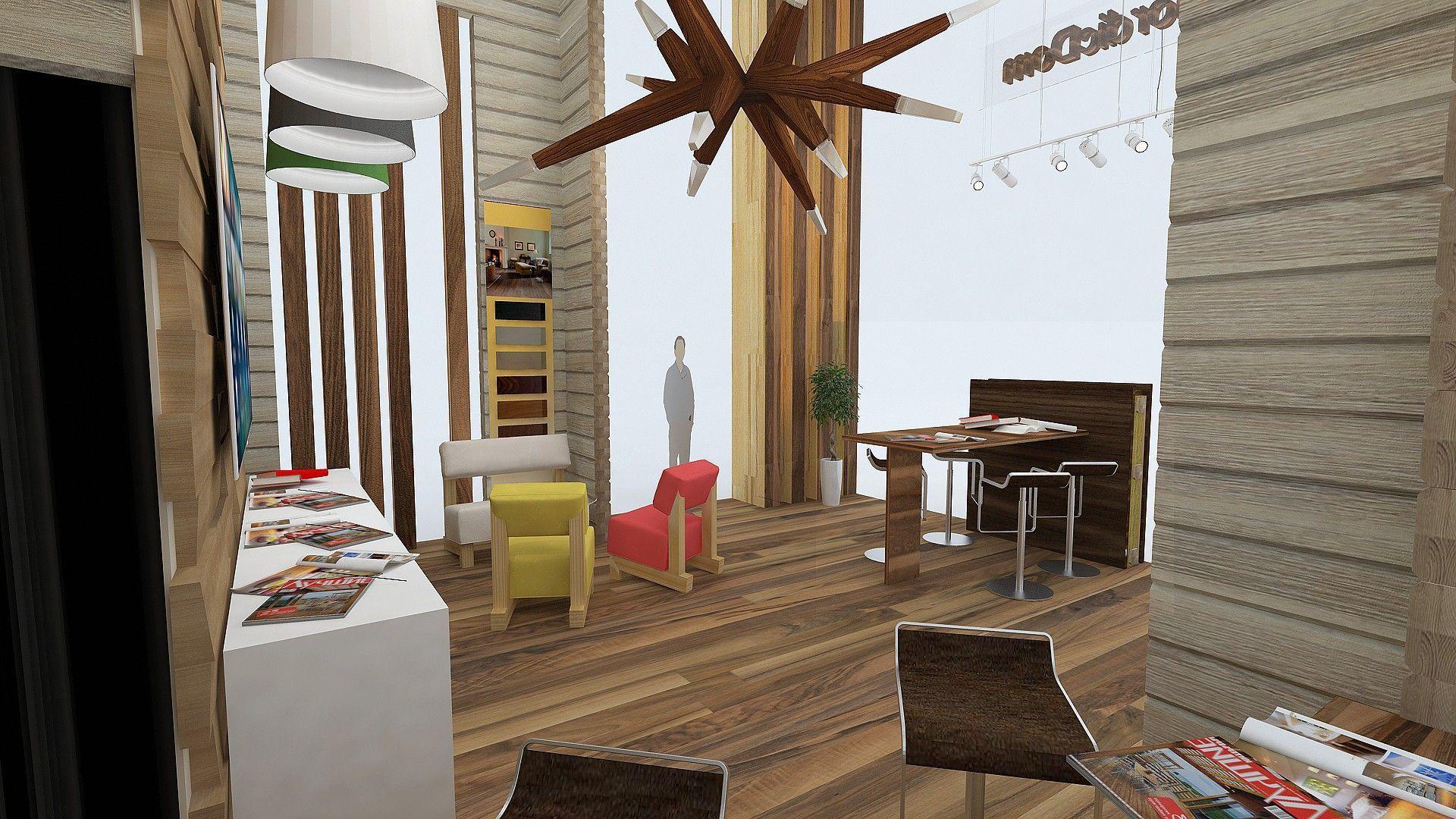 NordicDom: проект павильона для выставки