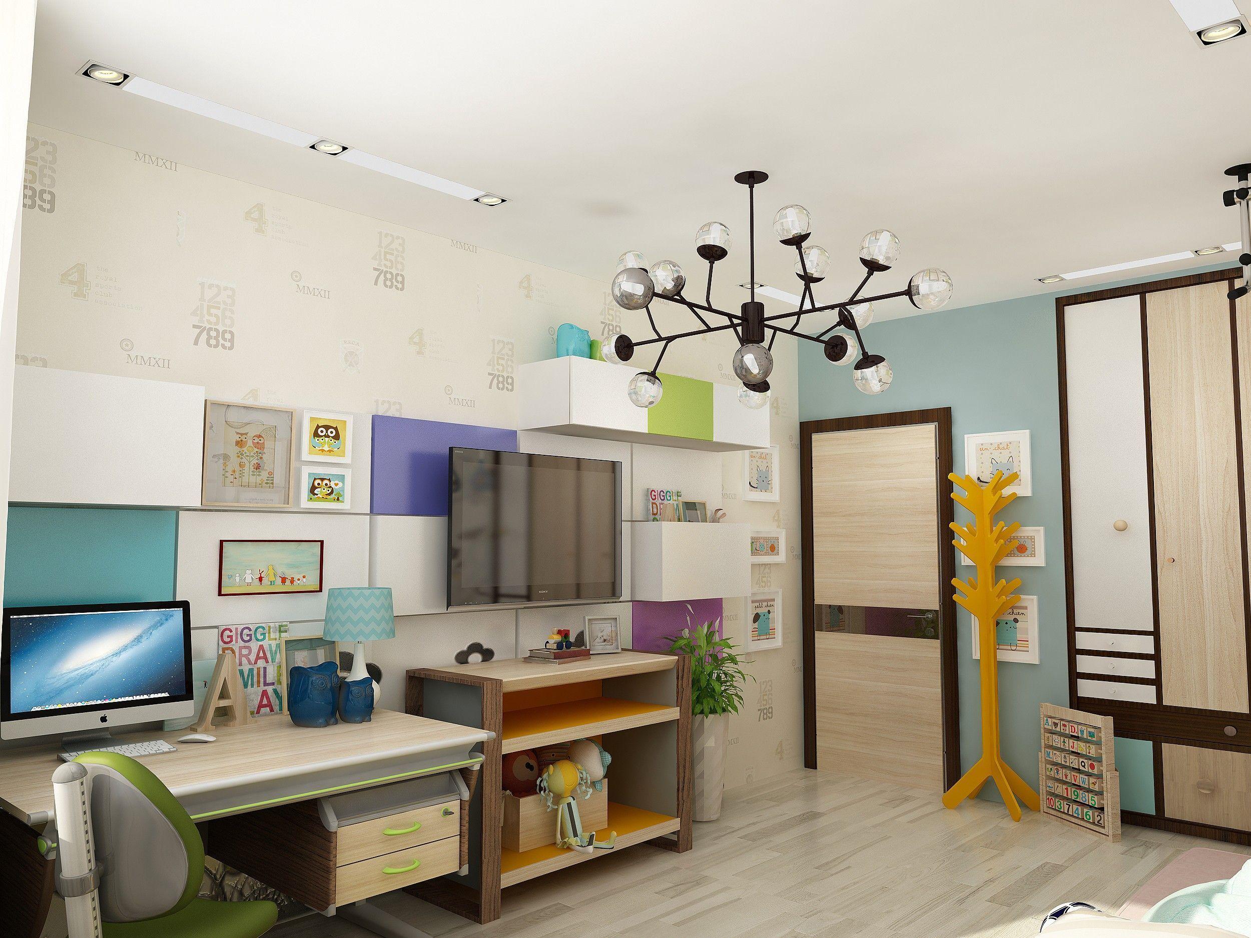Детская комната: дизайн интерьера