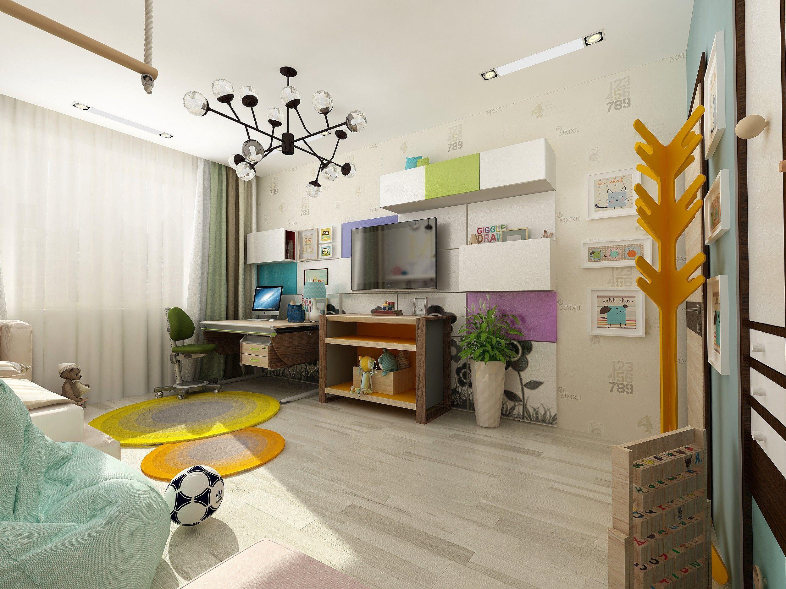 Детская комната: фото интерьера
