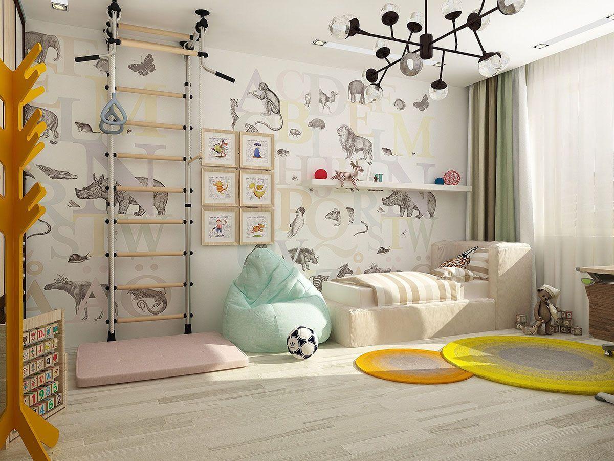 Детская комната: интерьер фото