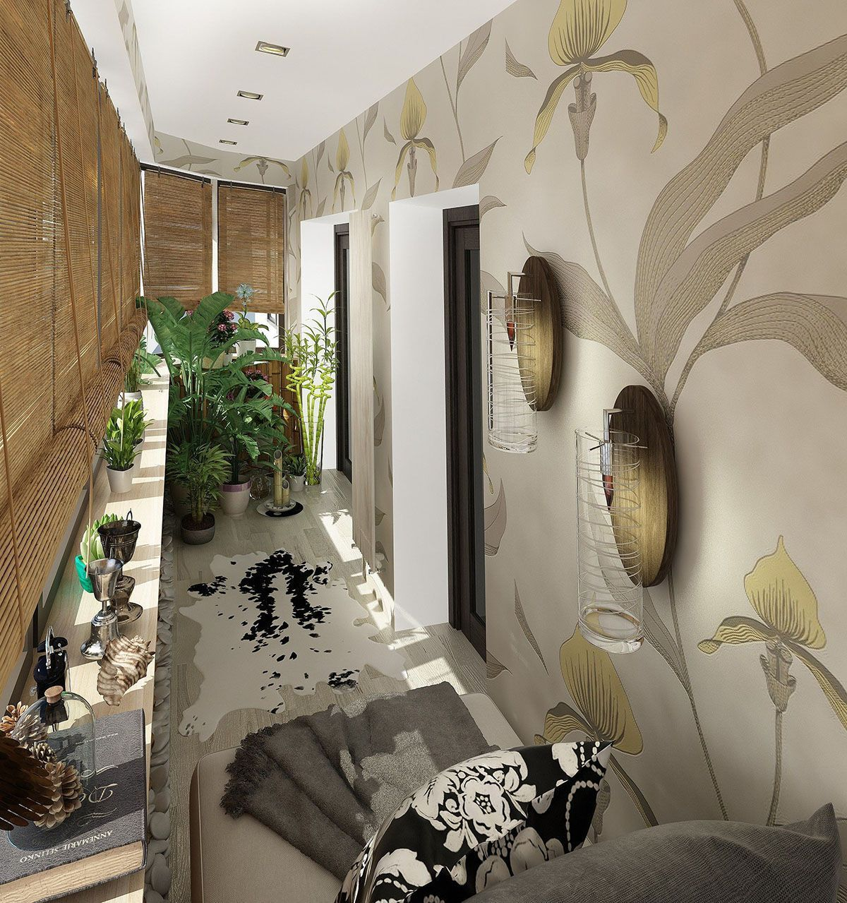 Балкон: дизайн интерьеров