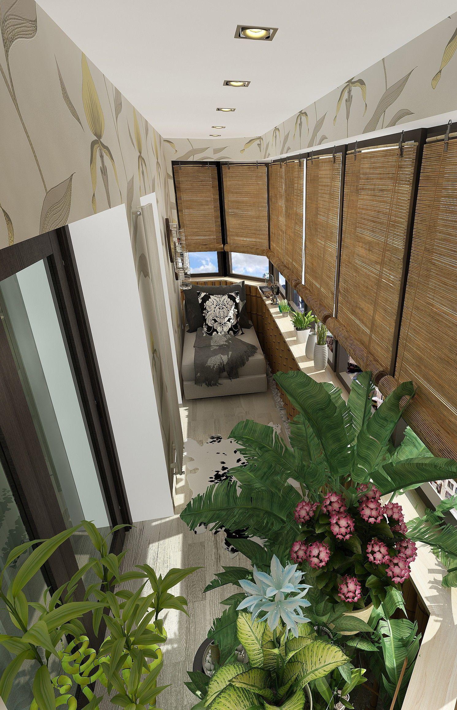 Балкон: дизайн интерьера