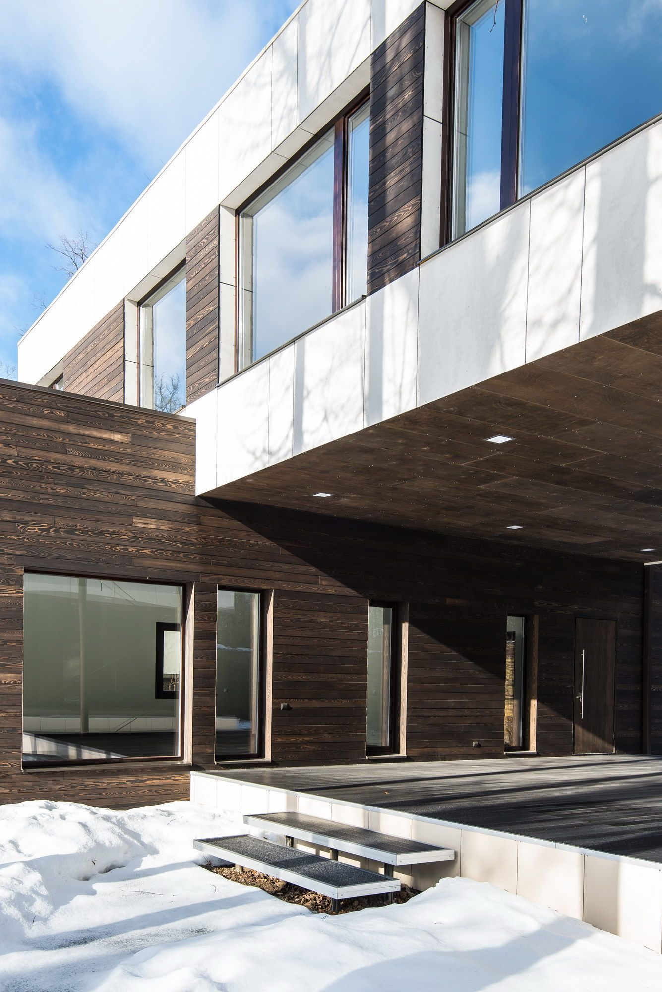 Фото проекта дома в стиле модерн