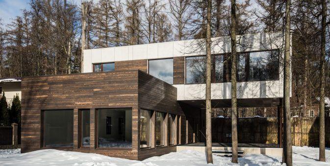 Частный жилой дом HTS_250, г. Москва, Куркино