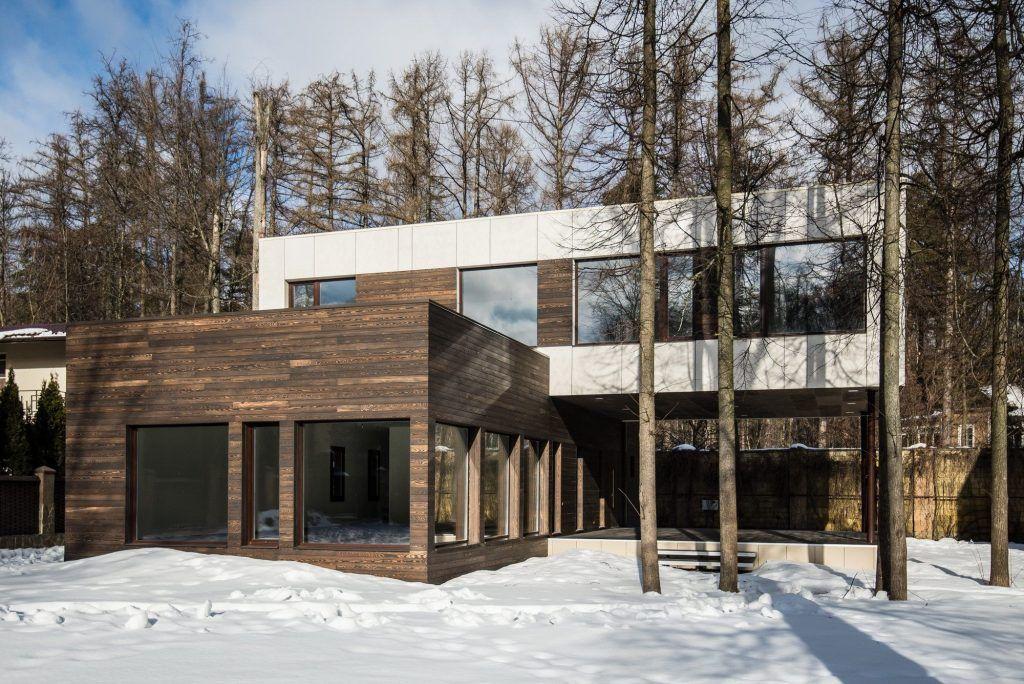 Архитектурный проект дома в скандинавском стиле