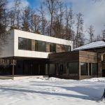 Проект дома в стиле модерн: фото