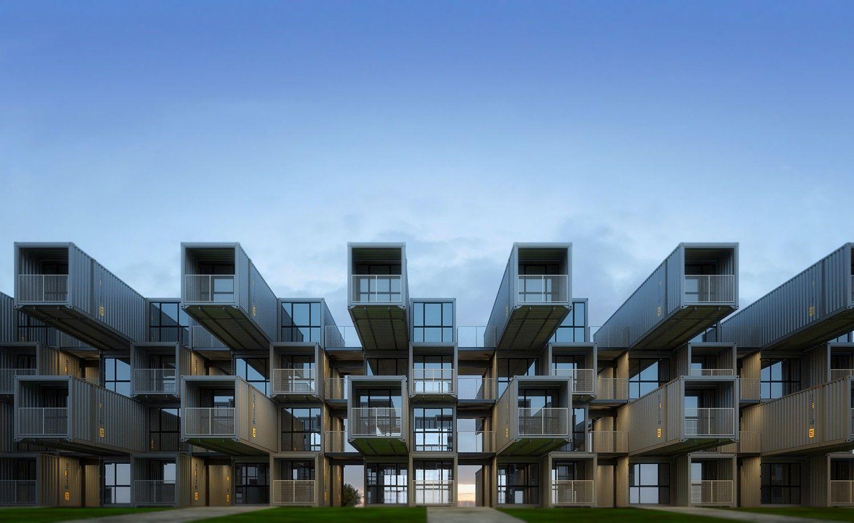 Архитектурный план общежития