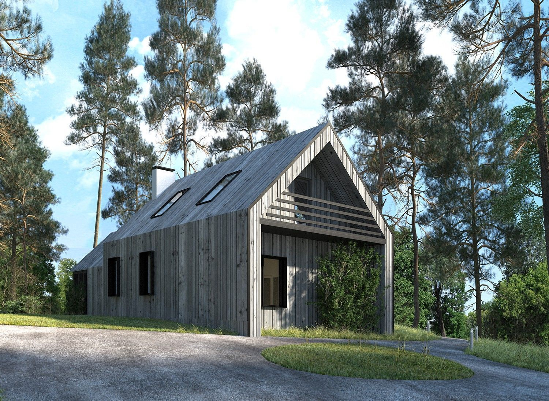 проект архитектуры загородного дома