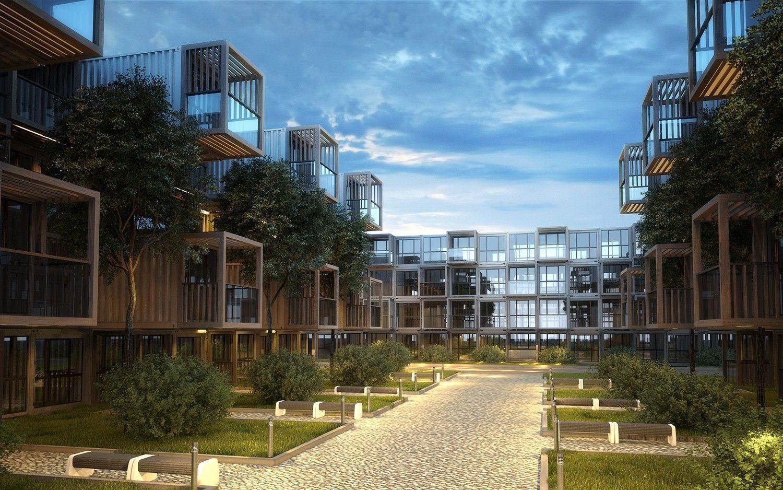 Общежитие: архитектурный проект