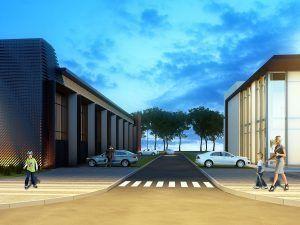 Реконструкция здания ДЮСШ «Старый Городок»
