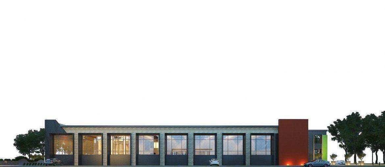 Архитектурный план реконструкции здания