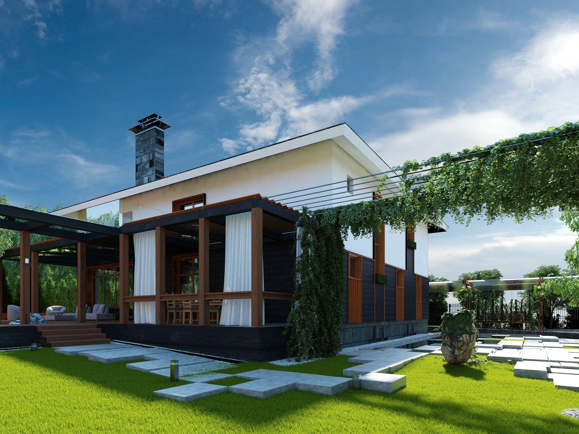Архитектурный проект благоустройства дома