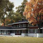 Проект дома в натуральном стиле: фото