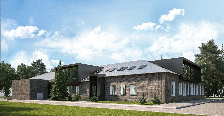 дизайн проект здании
