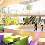интерьер и дизайн торгового центра