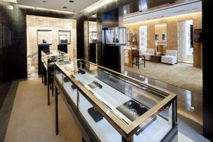 Современный дизайн интерьера магазина ювелирных изделий