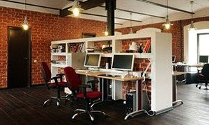Дизайн офиса в стиле лофт