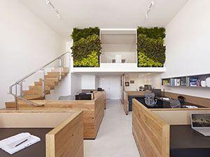 Современный дизайн офиса в эко стиле
