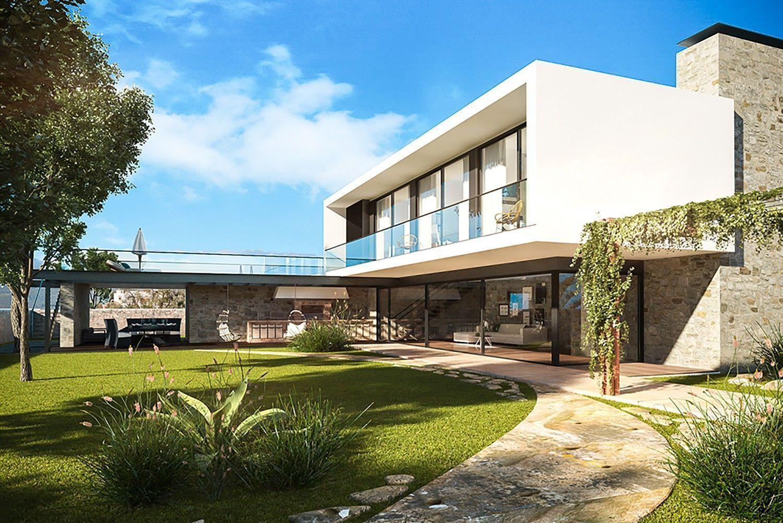 архитектурный план жилого дома