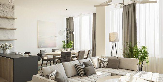 Дизайн-проект квартиры, г. Барнаул