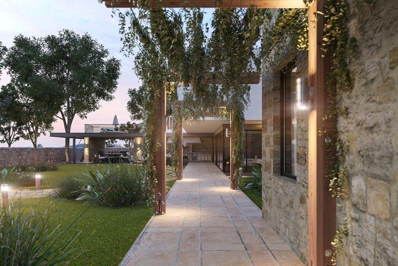 архитектурный план загородного дома