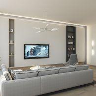дизайн интерьера гостиной- фото