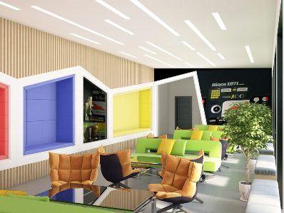 Дизайн офиса в современном стиле