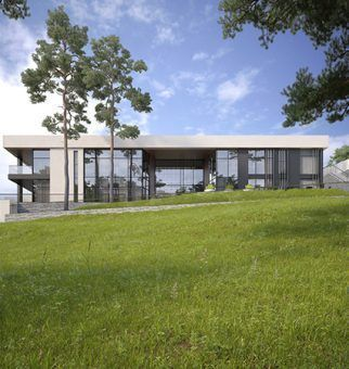 Заказать проекты домов в современном стиле